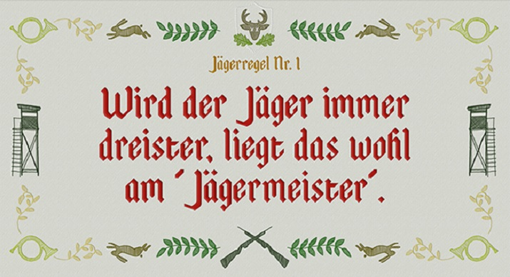 Jagd Alkohol